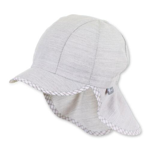 UV Schutz  1612039 Sterntaler Jungen Sommer Mütze Schirmmütze mit Nackenschutz