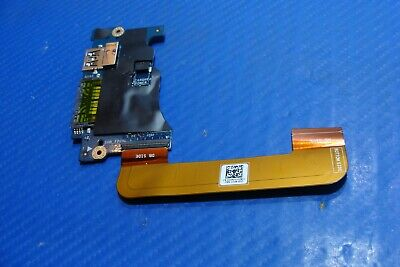 """Dell XPS 13 9350 13.3/"""" OEM USB Card Reader Power Button Board w//Cable LS-C881P"""
