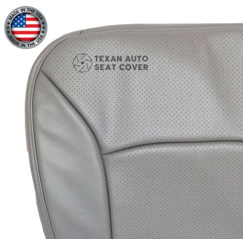 2007 Ford E150 E250 E350 Econoline Van Driver Bottom Perforated Seat Cover Gray