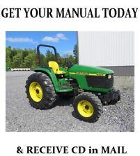 John Deere 4600 Tractor Service Repair Workshop Manual Tm1679 On Cd 664 Pages