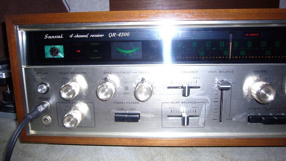Forstærker, Sansui, QR-4500