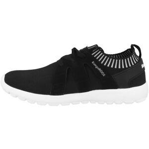 KangaROOS K-Sock Schuhe Freizeit Sneaker Turnschuhe black grey 18102-5007