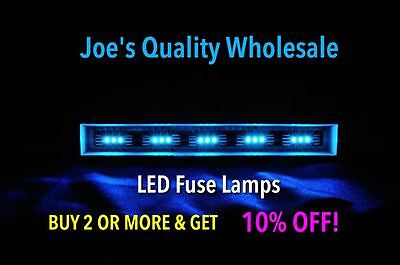 (100)cool Blue Led 8v Fuse Lamps Receiver/stereo/2235 2270/dial-4240-2330 Amp Hot Sale 50-70% Korting