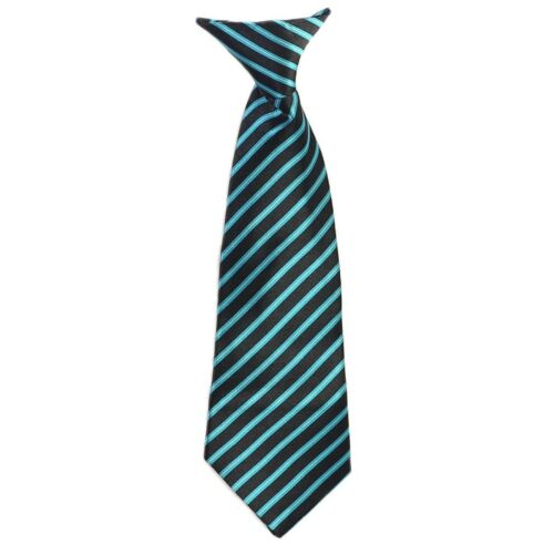 4-7 Satin Tie 25 Colors Clip On Neck Tie For Toddler 8-16 2T-4T Kids Boys