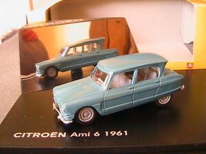 Citroën Ami 6 1961 Bleu blue 1//43