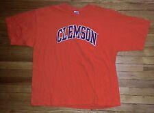 3102s Solid Orange Black White Letters 2XL CLEMSON Gideon T Shirt!