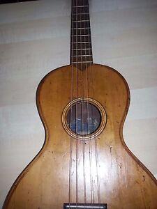 Antica Chitarra alte gitarre Tranquillo Giannini S.A.