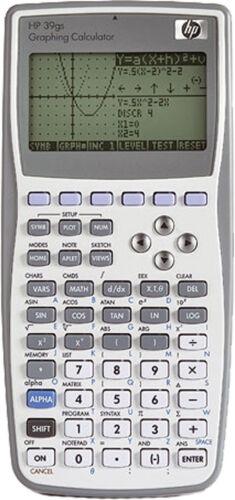 HP-39 GS Grafikrechner Hewlett Packard mit 256 KB mit PC-Link-Kit Neu /& OVP