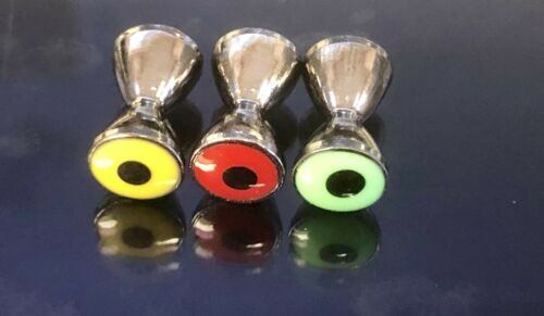 YOU PICK COLOR XLG PSEUDO EYES by HARELINE SALTWATER. FLY TYING STREAMERS