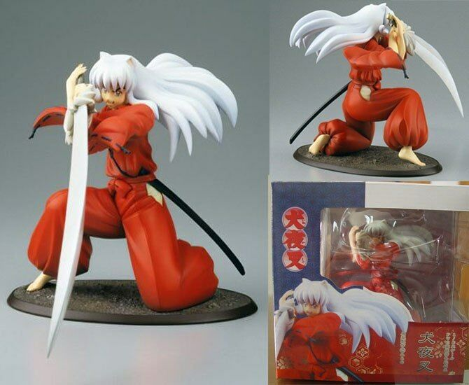 1 Pcs 19CM Inuyasha Anime Action Figure Fashion statue In PVC doll toy new