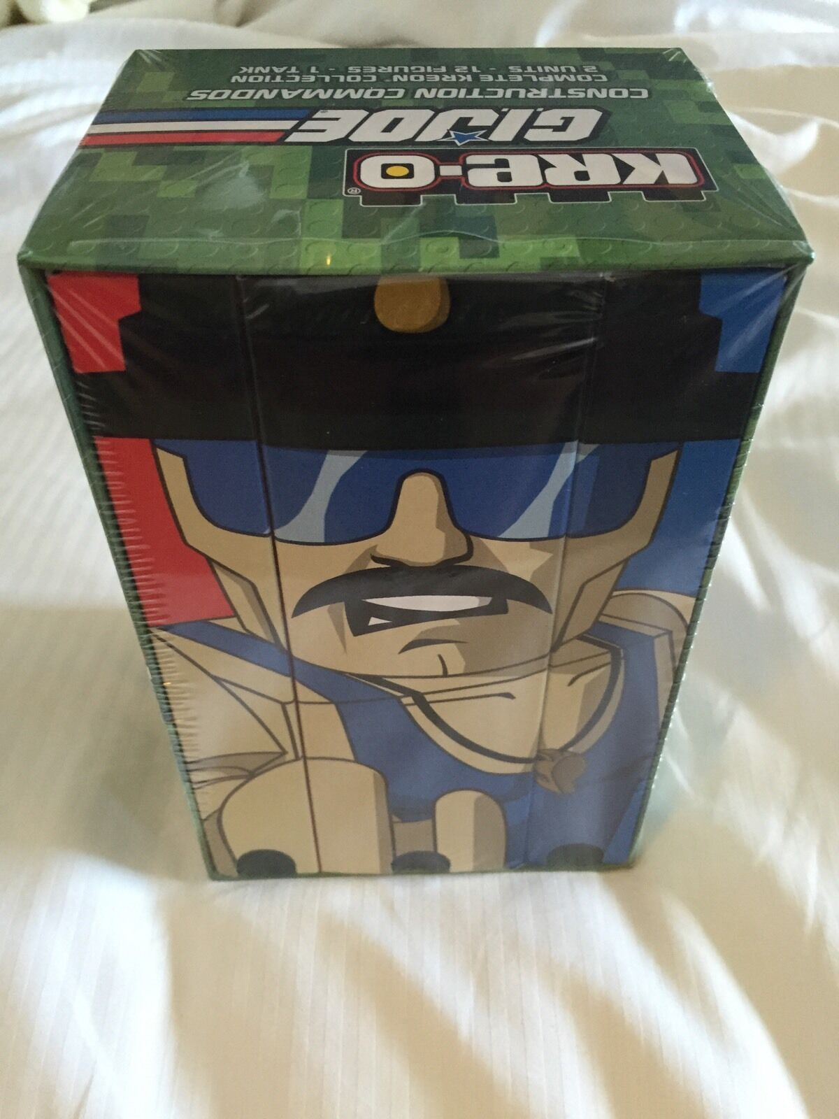 SDCC 2015 Hasbro EXCLUSIVE GI Joe Sgt. Slaughter Commandos Kre-O Set  In Hand