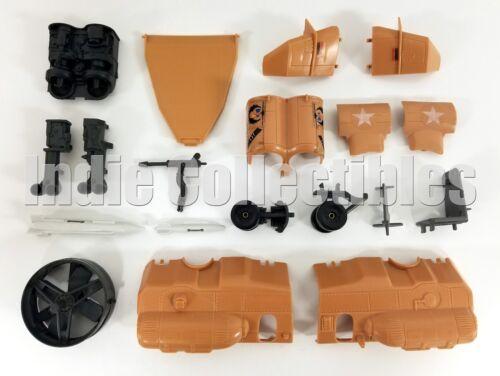 GI Joe Tomahawk pièces lot vintage figurine véhicule Accessoires 1986