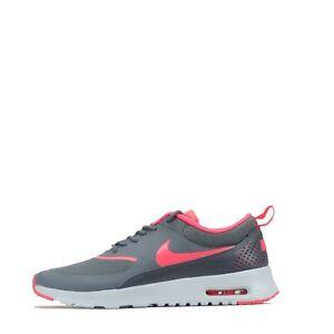 Nike Air Max Thea Femme Baskets Chaussures, Gris foncé