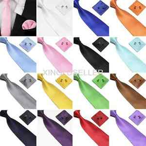 Woven-Silk-HandMade-Mens-Tie-Cufflinks-and-Handkerchief-Gift-Set-Hanky-Necktie