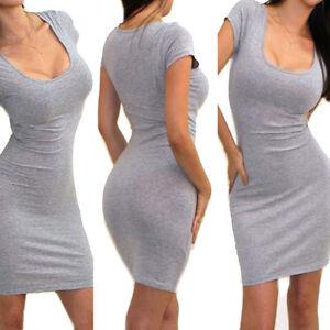 Women's Base Long Shirt Slim Pencil Skirt Stretch Skinny Tight ...