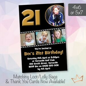 Image Is Loading Personalised 18th 21st 30th 40th 50th 60th Birthday