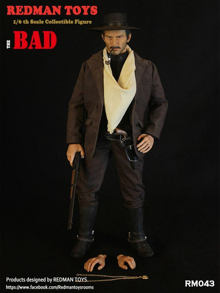 1 6 Scale rotMAN TOYS The Bad Santanza HLee Van Cleef RM043 Action Figure