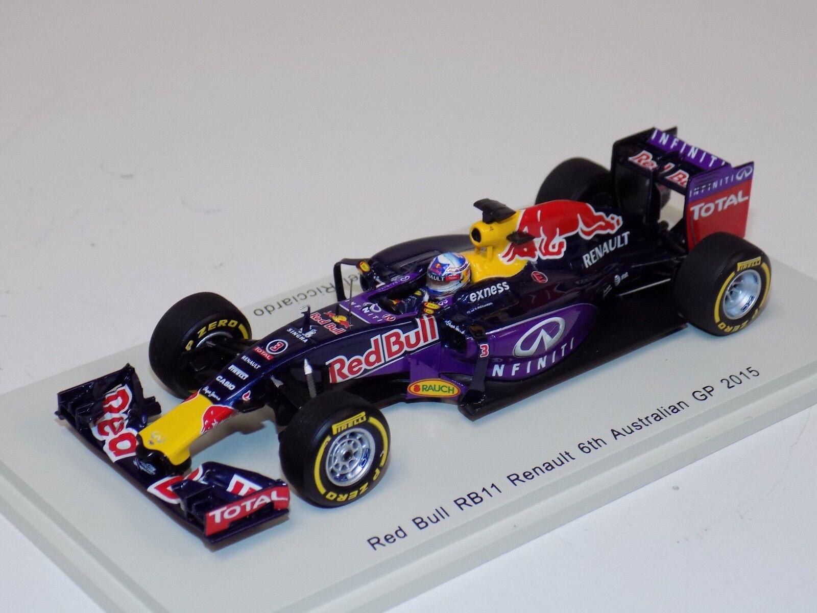 1 43 Spark Spark Spark Benetton B194  car th 2015 Australian GP Daniel Ricciardo S4604 67f0f7