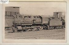RPPC - Denver - Colorado & Southern RR Locomotive at Railyards - early 1900s