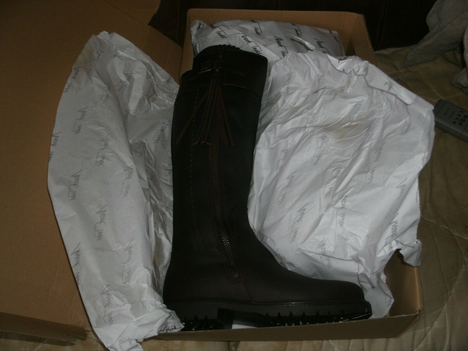 MARK TODD,LADIES RIDING BOOTS,EUR SIZE 37,COGNAC SIZE 40 AVAILABLE
