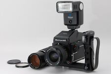 Exc++++ Mamiya M645 1000S with 45mm 210mm 2Lens grip frash from Japan a137