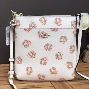 Authentic-Coach-Messenger-Crossbody-In-Rose-Print-F31852-Chalk