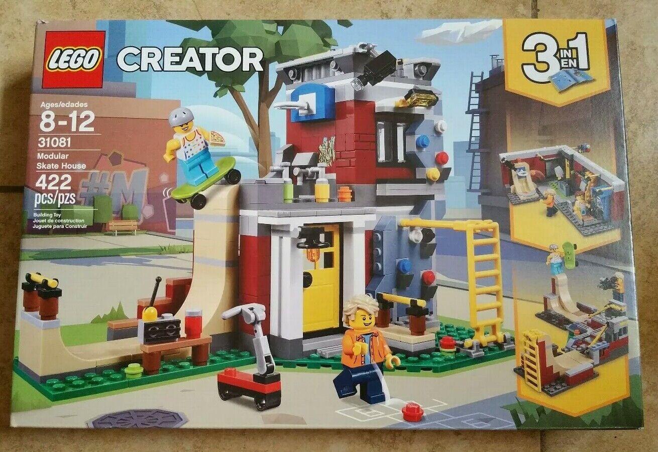 LEGO® Creator - Modular Skate House 31081 422 Pcs