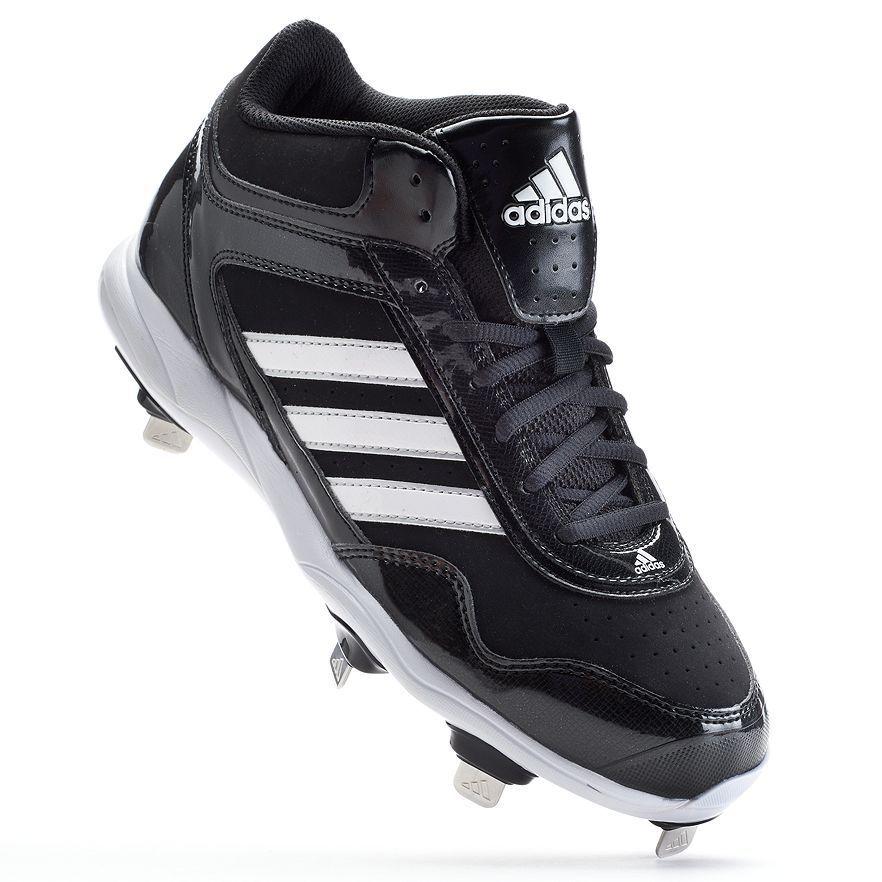 neue männer adidas excelsior pro mitte / baseball metall stollen schwarz / mitte weiß msrp 90 84b918