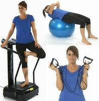Reboxed Gym Master Crazy Fit Oscillating Vibration Massage Fitness Mp3 Black