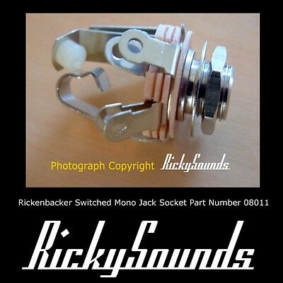 Geschaltet Mono Buchse für Rickenbacker Bass Oder Gitarre
