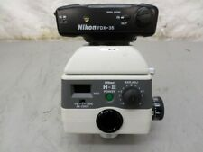 Nikon H Iii Microscope Power Lens And Fdx 35 Camera