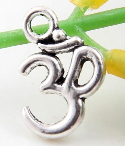 Lead-free Wholesale 40//86Pcs Tibetan Silver   Charms  16x11mm