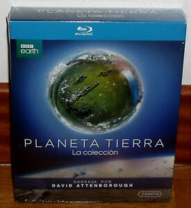 PLANETA TIERRA LA COLECCION 6 BLU-RAY+1 DVD NUEVO DOCUMENTALES (SIN ABRIR) R2