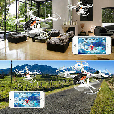 New CX-36 Mini Drone 4CH 2.4G 6Axis Roll WIFI RC Quadcopter Helicopter White