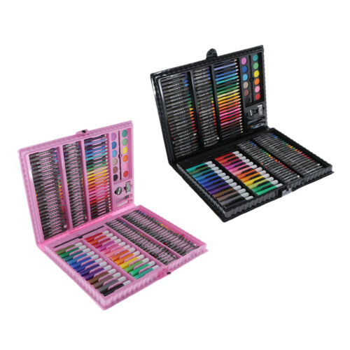 167x Drawing Painting Art Box Set Colored Pencils for Kids Toddlers Beginner