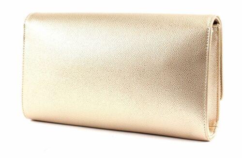 VALENTINO BAGS Divina Lady Clutch Clutch Tasche Oro Gold Neu