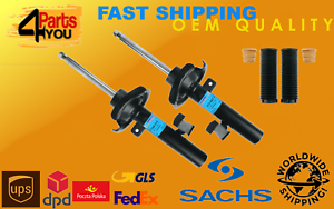 2x-SACHS-FRONT-Shock-Absorbers-DAMPERS-VOLVO-C30-C70-S40-II-V50
