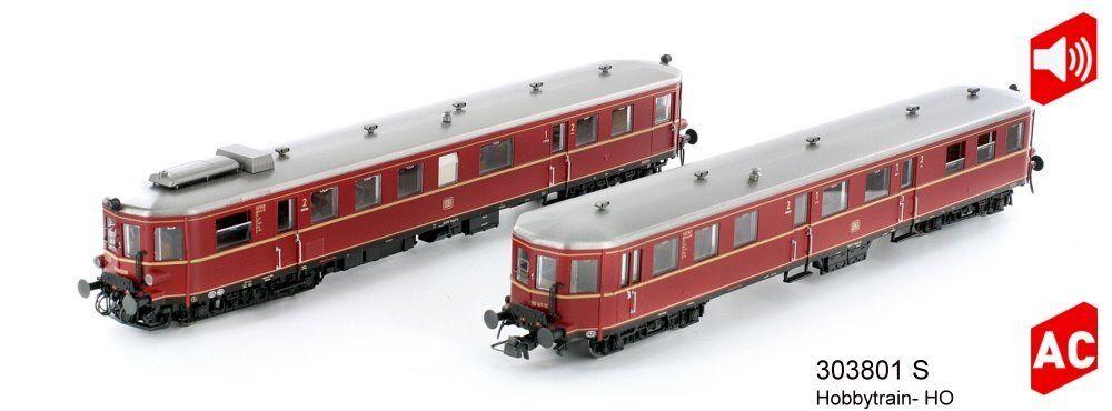 Hobbytrain 303801 s-Diesel Motori Auto vt36.5 vt36.5 vt36.5 vs145 DB rosso-EP. III-AC-Sound 900dd5