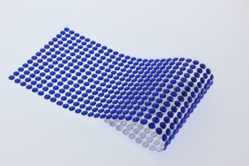 Strasssteinchen Glitzersteinchen Sticker Aufkleber 500 Stück 6mm BLAU