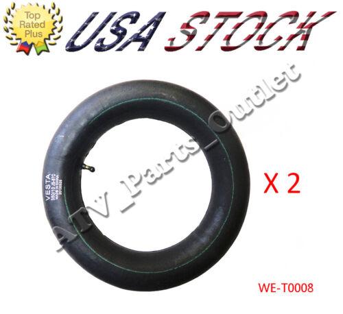 """3.50 X 10 10/"""" for Moped Scooters 2 pcs 3.50-10 Inner Tube BENT STEM VALVE"""