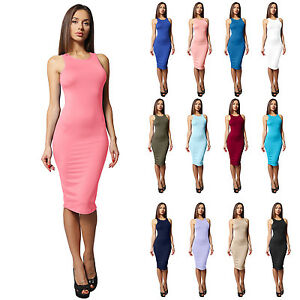 Fitted Midi Dresses