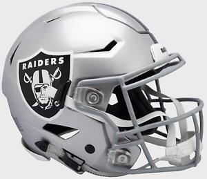 4c521b26e Image is loading OAKLAND-RAIDERS-NFL-Riddell-SpeedFlex-Football-Helmet-w-