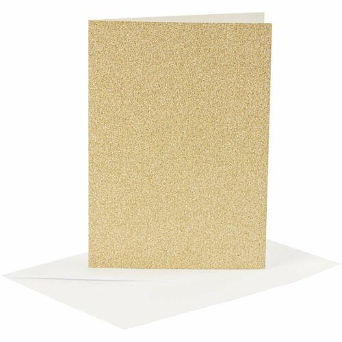 Card size 10.5X15cm Envelope size 11.5X16.5 cm Glitter Cards with Envelopes