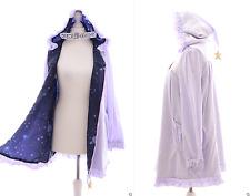 Ts-50 lila Sky estrellas centímetro-capucha verano chaqueta Baby Doll pastel Goth Lolita