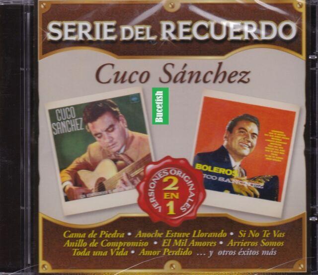 Cuco Sanchez Serie del Recuerdo de je 2en1 CD NEU NUEVO SEALED