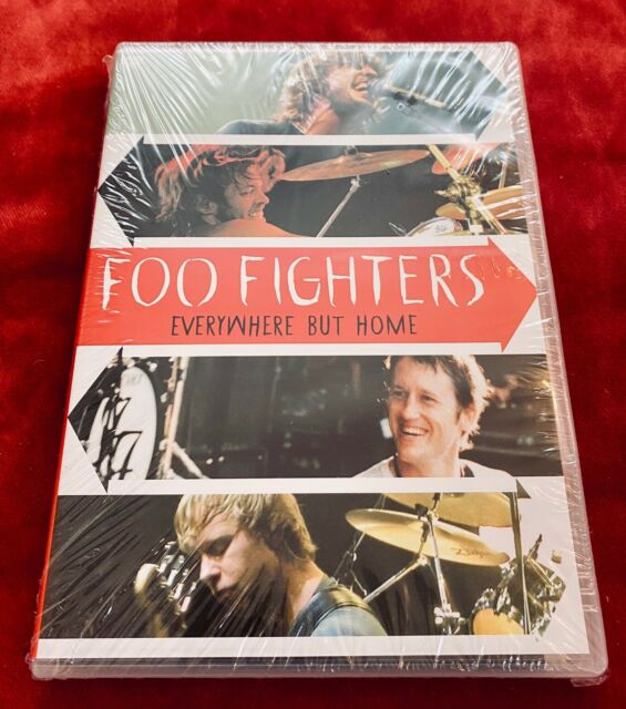 Foo Fighters - EVERYWHERE BUT HOME (2006) - DVD Konzert - NEU & OVP