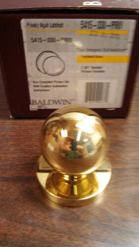 5415-030-PRIV  Baldwin Interior Privacy lock