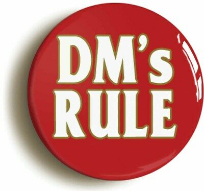 Size is 2inch diameter DUNGEON MASTER ROLE PLAYING GAMES RPG BADGE BUTTON PIN