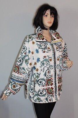 Gut 80er 80s Vintage True Vtg Damen Winter Jacke Winterjacke Jacket Blouson 40 M/l Angenehm Bis Zum Gaumen