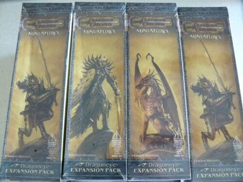 Dungeon and Dragon miniatures Dragoneye Booster Good for Pathfinder unopened